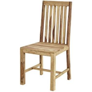 Holzstuhl  Palu ¦ holzfarben ¦ Maße (cm): B: 45 H: 100 T: 48 Stühle  Holzstühle » Höffner