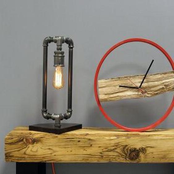 Holzwanduhr