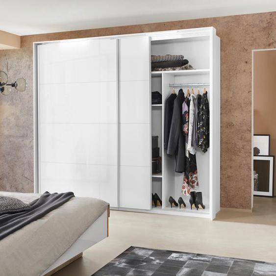Holzzone Inneneinteilung 136x47x161 cm weiß Zubehör für Kleiderschränke Möbel Schrankinneneinteiler