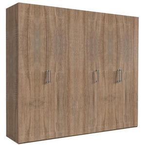 Hom`in: Drehtürenschrank, Holzwerkstoff, Sonoma Eiche, B/H/T 250 216 58