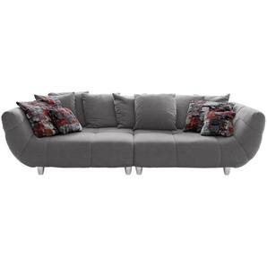 Hom`in: Sofa, Grau, B/H/T 300 87 133