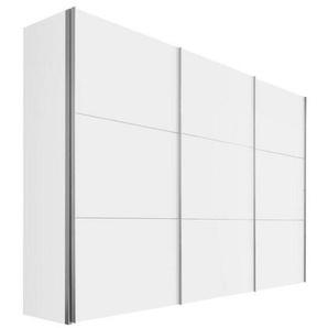 Hom`in: Schwebetürenschrank, Holzwerkstoff, Weiß, B/H/T 300 216 68