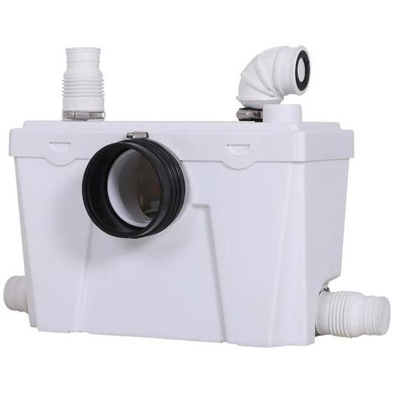Homcom Abwasserpumpe für WC & Dusche weiß