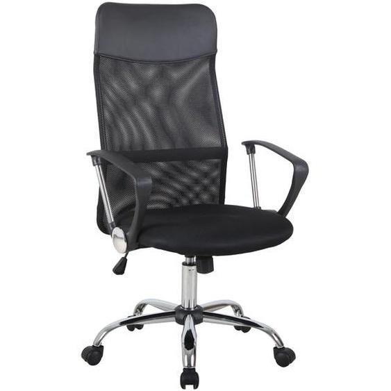 Homcom Bürostuhl ergonomisch schwarz