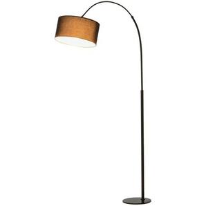 Homcom Stehleuchte mit 180° verstellbaren Lampenschirm schwarz
