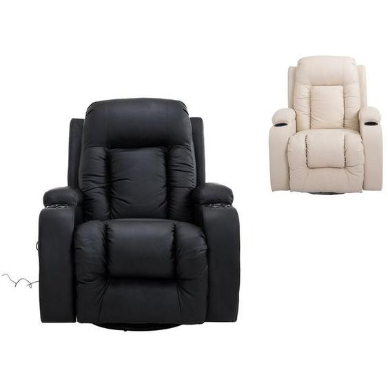 HOMCOM TV Sessel mit Massage- und Wärmefunktion