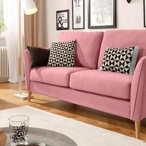Home affaire 2-Sitzer , rosa, 170cm, FSC-Zertifikat, »Marseille«, ,