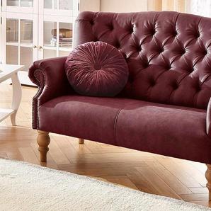 Home affaire 2-Sitzer , rot, 138cm, »Lord«, FSC®-zertifiziert