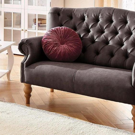 Home affaire 2-Sitzer »Lord«, mit echter Chesterfield-Knopfheftung und Ziernägeln