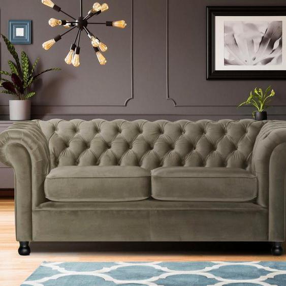 Home affaire 3-Sitzer »Chesterfield Home«, mit edler Knopfheftung und typischen Armlehnen