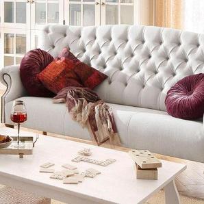 Home affaire 3-Sitzer »Lord«, mit echter Chesterfield-Knopfheftung und Ziernägeln