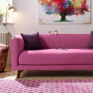 Home affaire 3-Sitzer »Maja«, im skandinavischem Design mit 2 Zierkissen