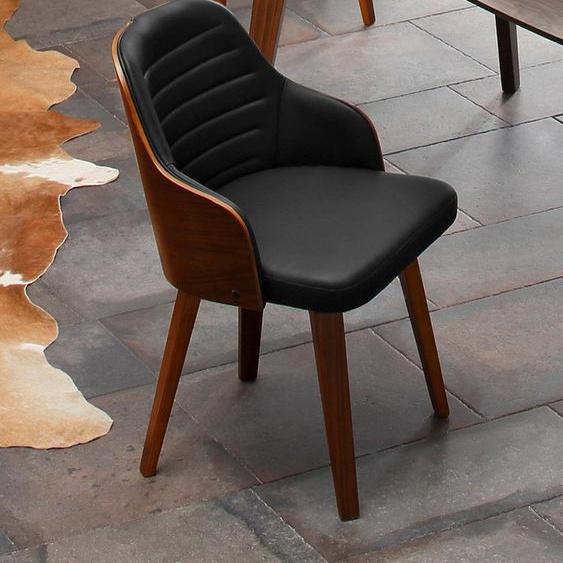Home affaire Armlehnstuhl »Duncan« (Set, 2 Stück), aus schönem Kustleder Bezug, in unterschiedlichen Farbvarianten