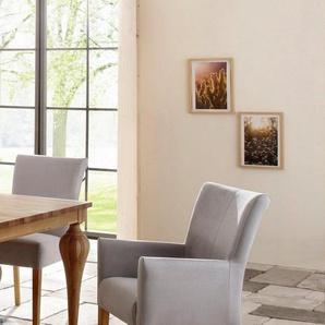 Home affaire Armlehnstuhl »King« bezogen mit Web- oder Strukturstoff, Microfaser oder Kunstleder