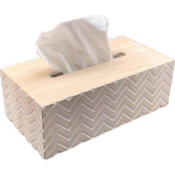 Home affaire Aufbewahrungsbox 26x14x9 cm weiß Boxen Truhen, Kisten Körbe Schlafzimmer Aufbewahrungsboxen