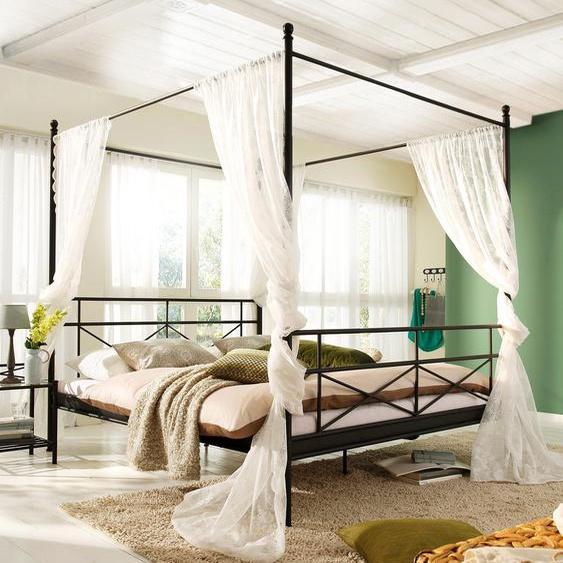 Home affaire  Bett aus Metall , schwarz, Material Metall »Thora«»Thora«