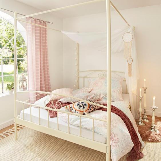 Home affaire  Bett aus Metall , weiß, Material Metall »Birgit«»Birgit«
