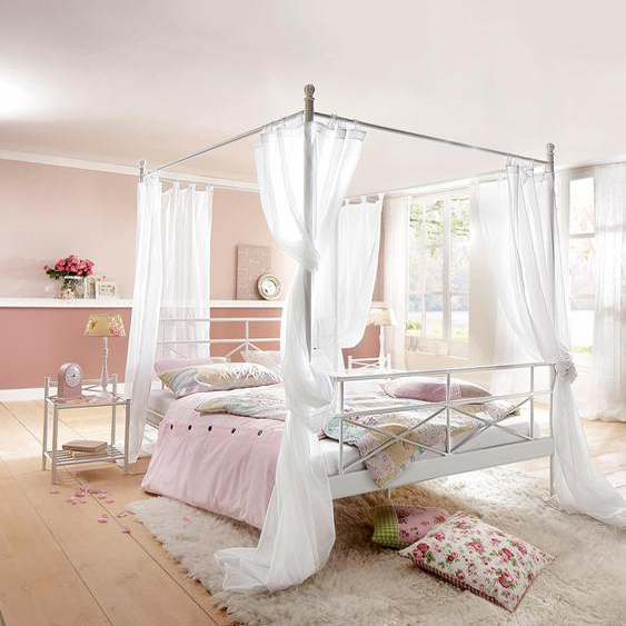 Home affaire  Bett aus Metall , weiß, Material Metall »Thora«»Thora«