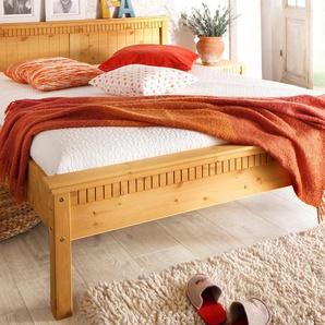 Home affaire Bett »Valencia« beige, 160/200 cm, FSC®-zertifiziert
