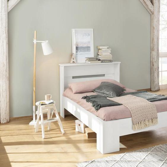 Home affaire Bett Katryn 90x200 cm Höhe Bettseite: 21 weiß Massivholzbetten Betten