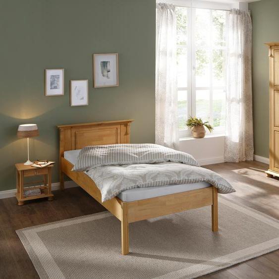 Home affaire Bett Mitu 90x200 cm beige Doppelbetten Betten