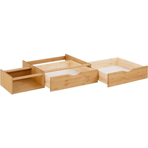 Home affaire Bettschubkasten Ieva 200x29 cm beige Bettgestelle Betten Schubladen