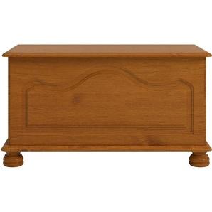 Home affaire Betttruhe Richmond, Breite 82 cm, mit hübscher Fräsung B/H/T: cm x 45 40 braun Hocker, Bänke Truhen Garderoben Nachhaltige Möbel