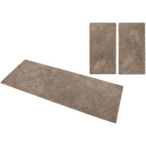 Home Affaire Bettumrandung »Viva«, 2x rücke 150x80 cm & 1x Läufer 340x80 cm, 45 mm Gesamthöhe, beige