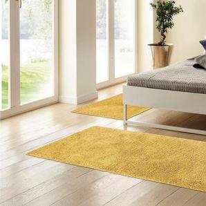 Home Affaire Bettumrandung »Viva«, 14 (2x Brücke 140x70 cm & 1x Läufer 250x70 cm), 45 mm Gesamthöhe, gold