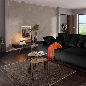 Home affaire Big-Sofa »Sundance«, mit vielen Kissen, Breite 302 cm, Boxspring-Federung