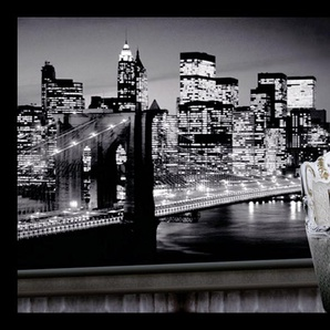 Home Affaire Bild »Evening in New York«, grau