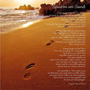 Home affaire Bild »Spuren im Sand«
