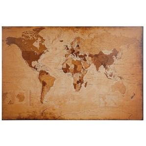 Home affaire Bild »Weltkarte - antik«, 90/60 cm