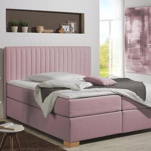 Home Affaire Boxspringbett »Cilento«, rosa, 100/200 cm