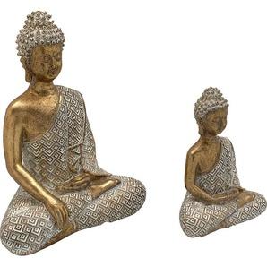 Home affaire Buddhafigur (Set, 2 Stück)