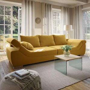 Home affaire Couchtisch »Agnes«, mit schönen Glasbeinen und pflegeleichter Tischplatte, in 3 verschiedenen Größen