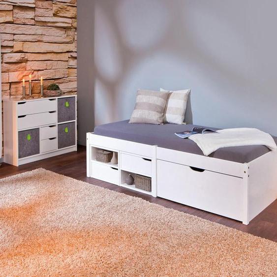 Home affaire Daybett Farum 90x200 cm weiß Tagesbetten Gästebetten Betten Daybetten