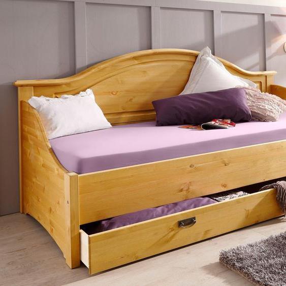 Home affaire Daybett »Konrad«, FSC®-zertifiziert, braun, Material Holz»Konrad«