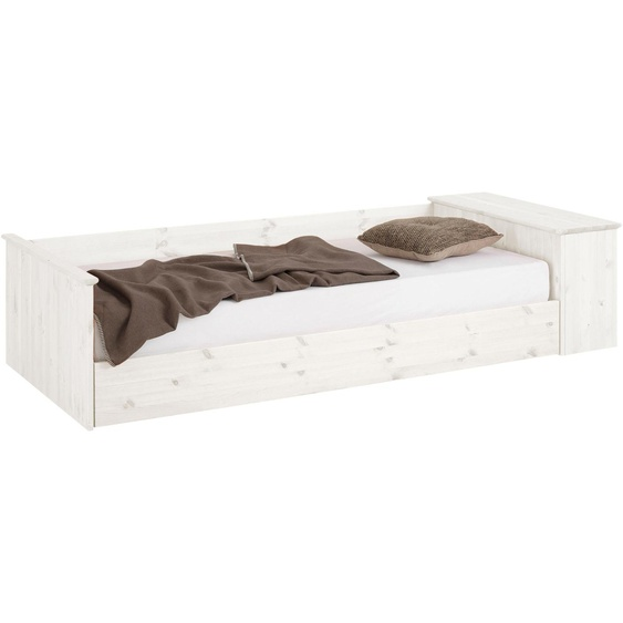 Home affaire Daybett, Landhaus-Stil, weiß, Material Kiefer