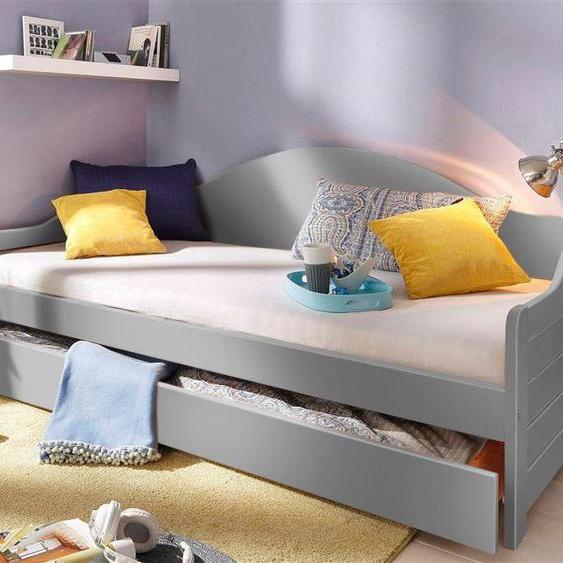 Home affaire Daybett »Susan«, FSC®-zertifiziert, grau, Material Holz»Susan«