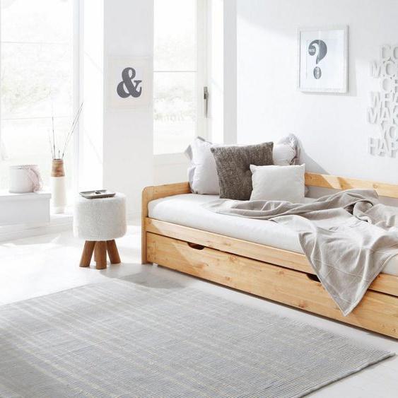 Home affaire Daybett »Tim«, mit ausziehbarer Schublade für Zweitmatratze als Gästebett
