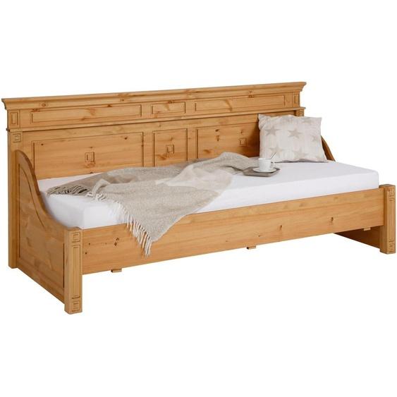 Home affaire Daybett »Vinales«, Landhaus-Stil, beige, Material Massivholz»Vinales«