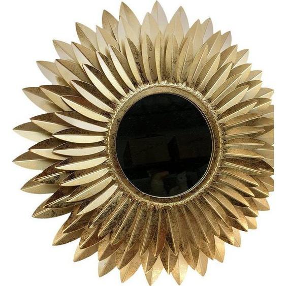 Home affaire Dekospiegel »Blumen gold«, Wanddeko