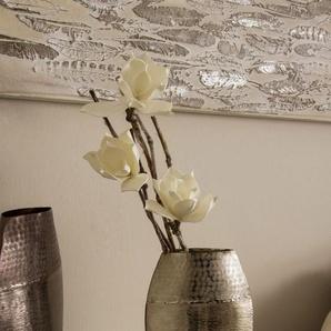 Home affaire Dekovase B/H/T: 20 cm x 7 30 silberfarben Blumenvasen Pflanzgefäße Wohnaccessoires