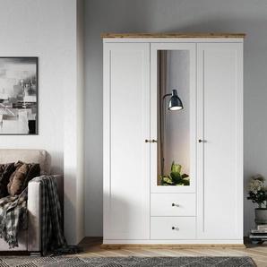 Home affaire Kleiderschrank »Banburry« in verschiedenen Größen, mit jeweils 2 Schubladen