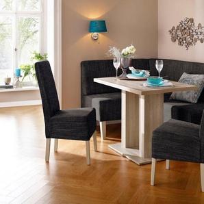 Home affaire Eckbankgruppe »Hellen«, (Set, 4-tlg), im rustikalen Landhausstil