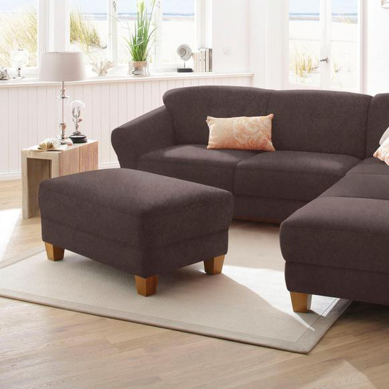 Home affaire Ecksofa »Gotland«, wahlweise mit Sitztiefenverstellung + Bettkasten