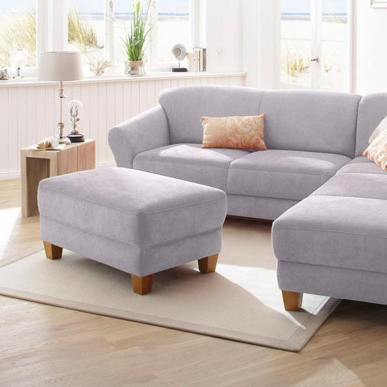 Home affaire Ecksofa »Gotland«, Ottomane rechts oder links, grau, mit Sitztiefenverstellung