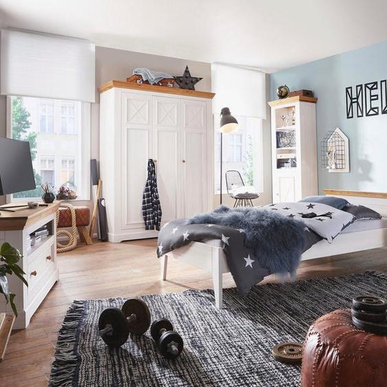 Premium collection by Home affaire Einzelbett »Kim«, aus Massivholz