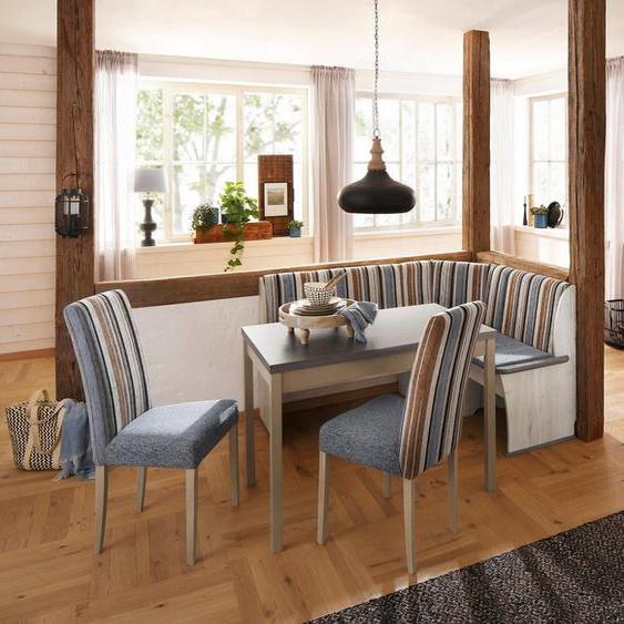 Home affaire Essgruppe »Denis«, (Set, 3-tlg), Set bestehend aus Essbank, Tisch und 2 Stühlen